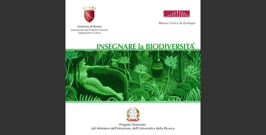 Copertina DVD Insegnare la biodiversità