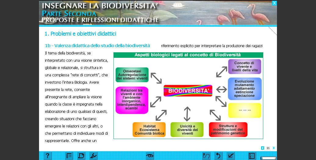 Insegnare la biodiversita