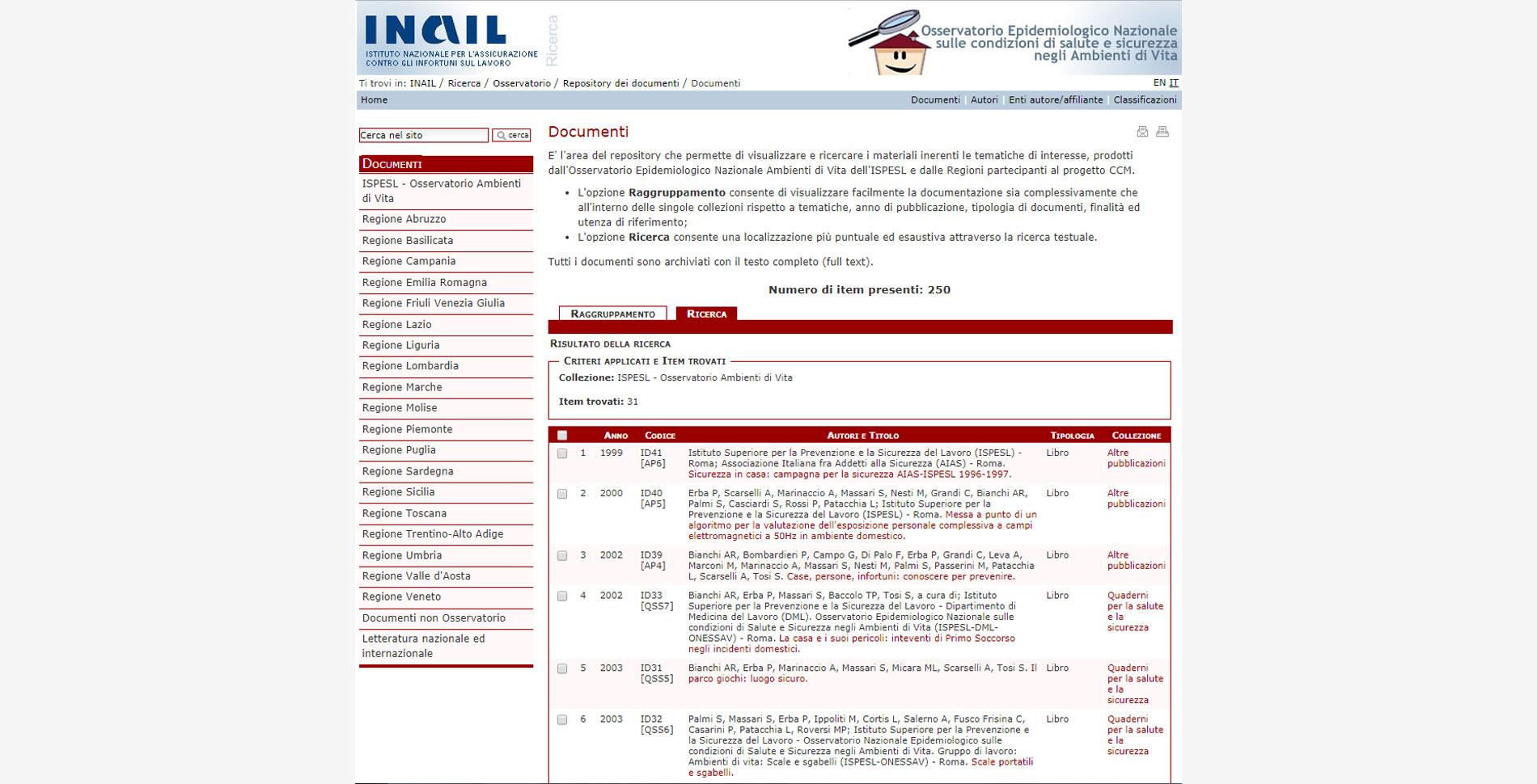 Documenti repository digitale