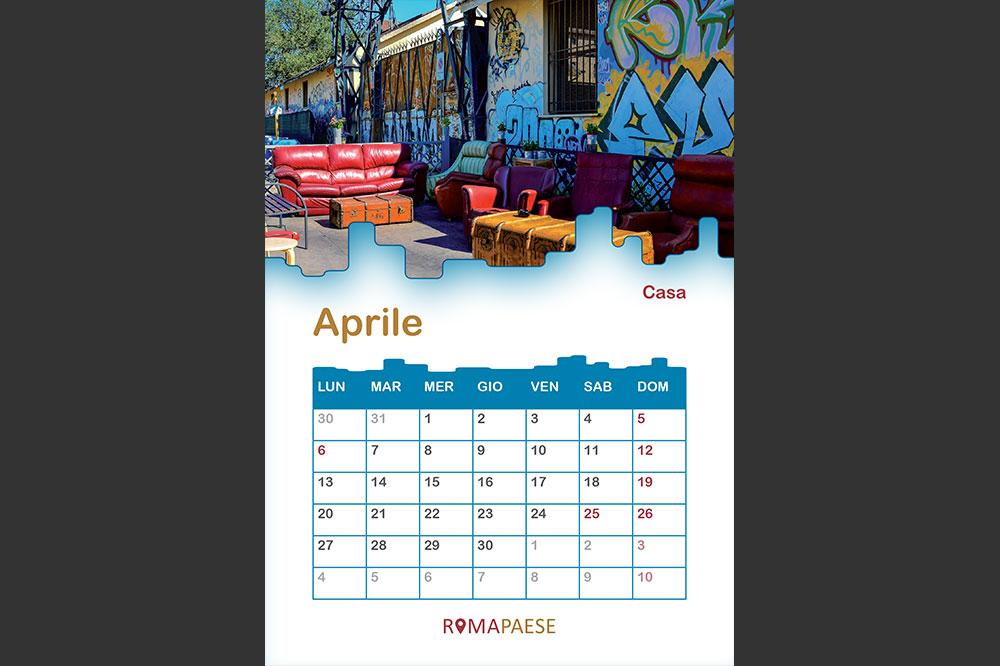 Calendario Romapaese- Aprile