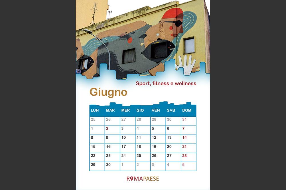 Calendario Romapaese- Giugno