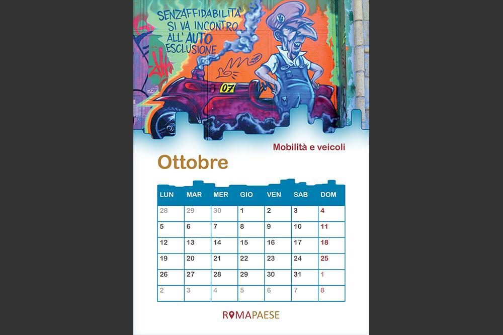 Calendario Romapaese- Ottobre