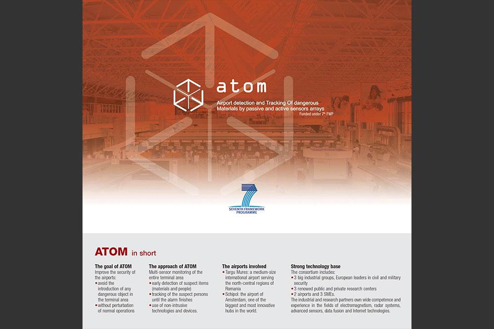 Copertina Brochure Progetto Atom