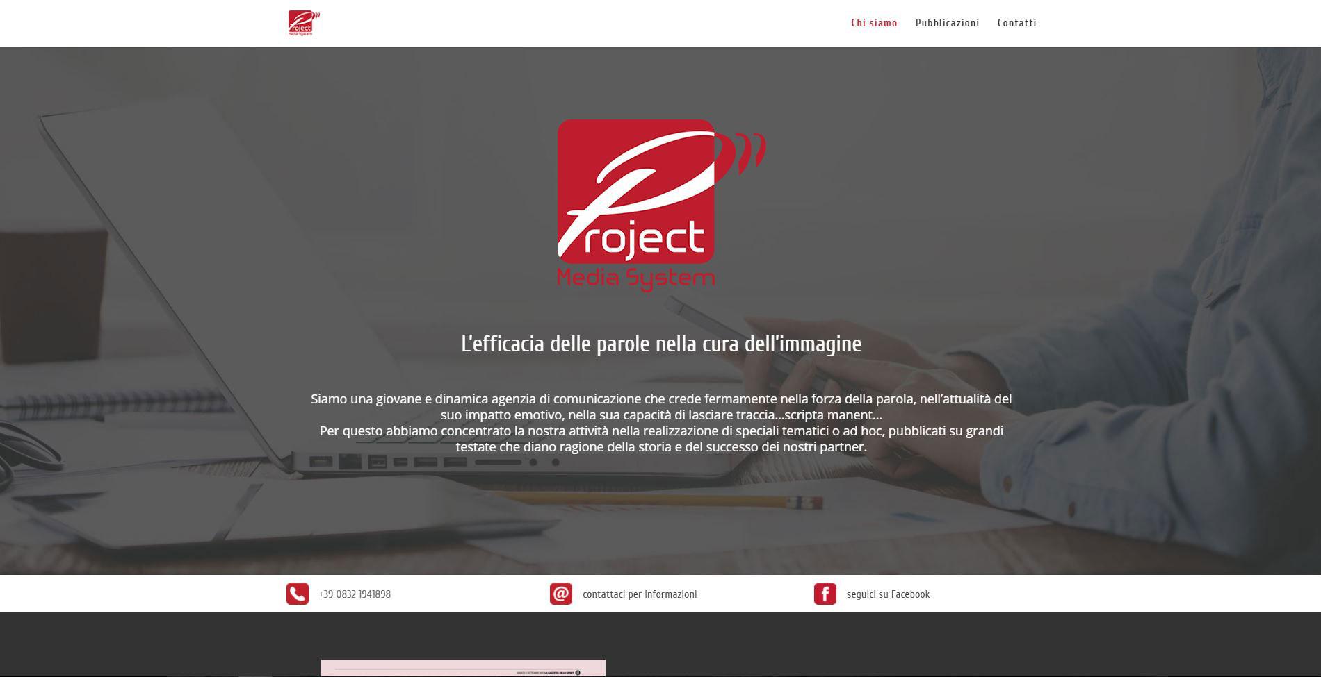 Home page PMS Italia