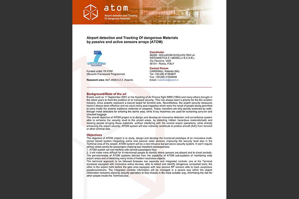 Presentazione Progetto Atom