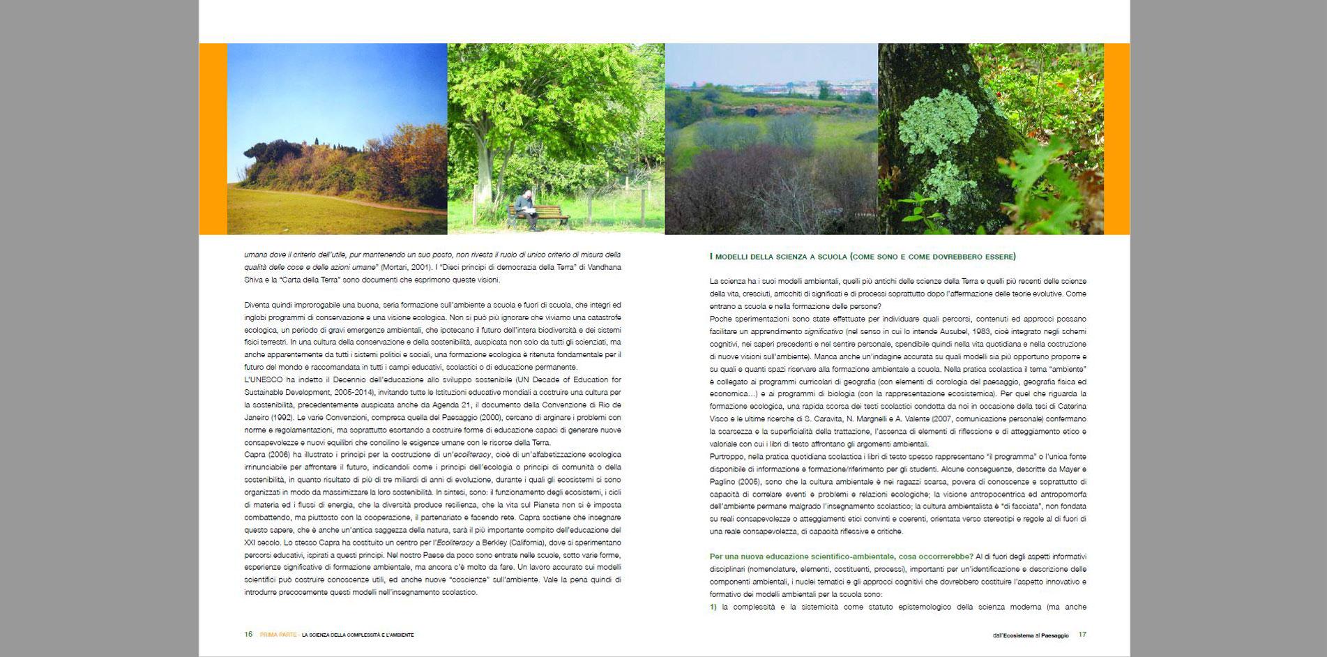 Attività didattiche su ecosistema e paesaggio