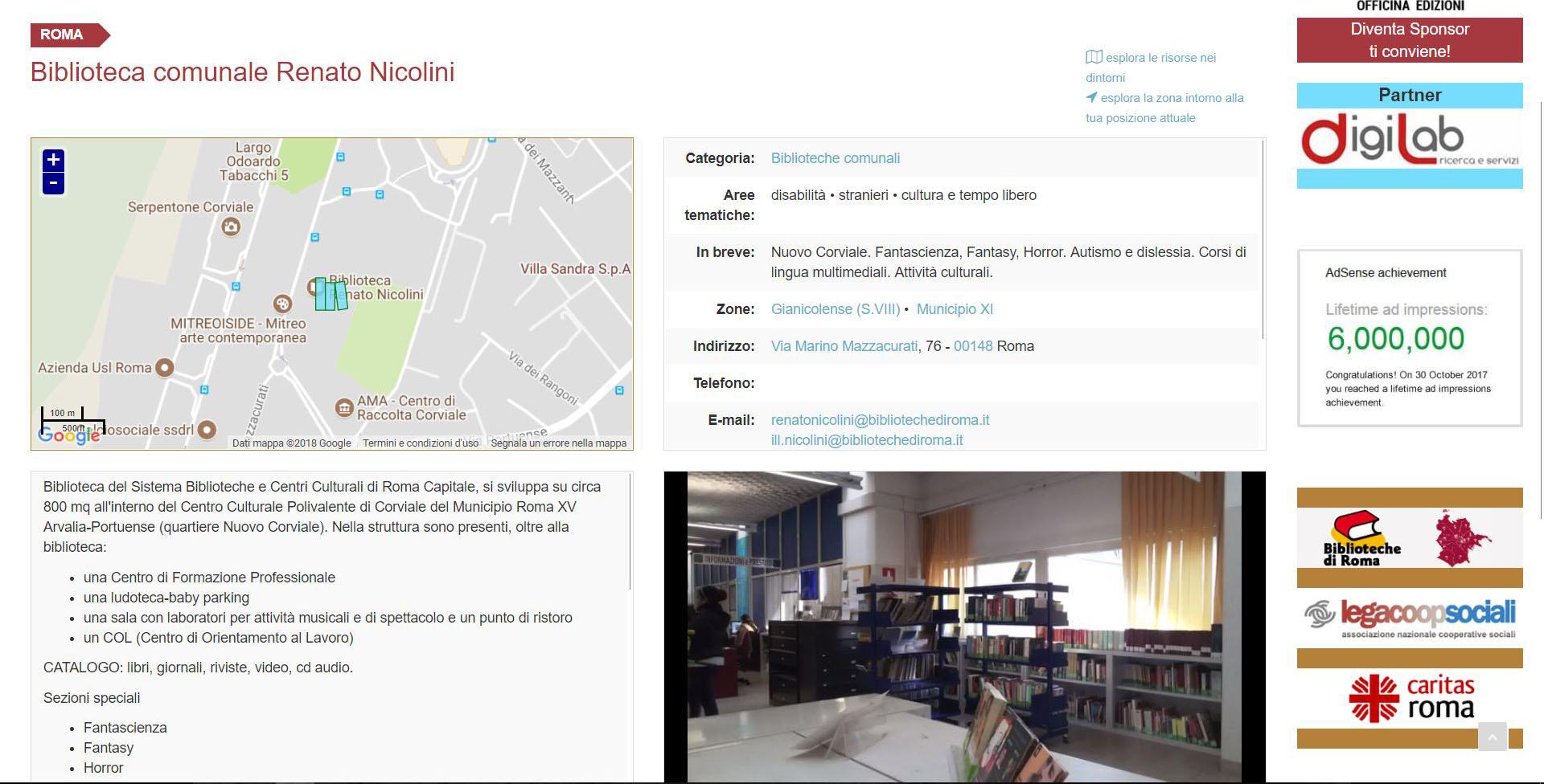 Biblioteca Comunale Nicolini